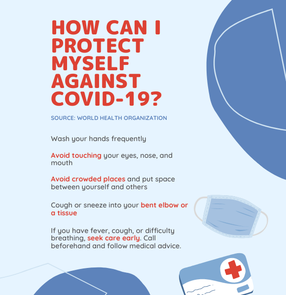 How can I protect myself agaisnt the coronavirus