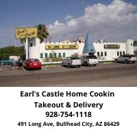 Earl's Castle Home cookin located in Bullhead City, Az