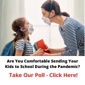 Are Yoy Comfortable Sending Your Kides Back to School?